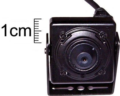 Mini CCD Pinhole Camera
